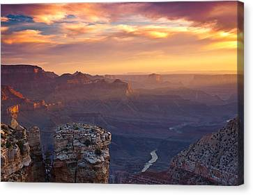 Le Grand Sunrise Canvas Print by Darren  White