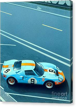 1960 Canvas Print - Le Mans 68 by MGL Meiklejohn Graphics Licensing