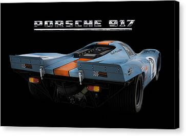 Le Mans King 2 Canvas Print by Peter Chilelli
