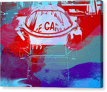 Le Mans Racer During Pit Stop Canvas Print