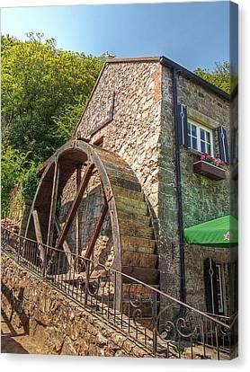 Le Moulin De Lecq Inn Canvas Print