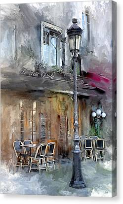 Le Petit Paris Canvas Print