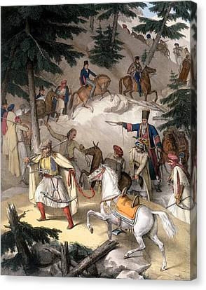 Le Pinde - Plate Xi, Engraved Canvas Print