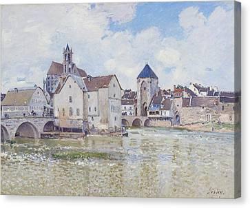 Le Pont De Moret Canvas Print