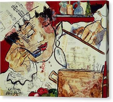 Le Potage Canvas Print