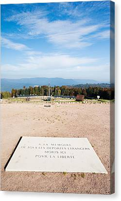 Rhin Canvas Print - Le Struthof Former Nazi Concentration by Panoramic Images