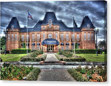 Canvas Print featuring the photograph Le Triomphe by Cecil Fuselier