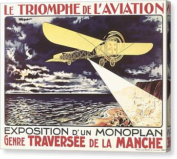 Le Triomphe De Laviation. Exposition Canvas Print by Everett