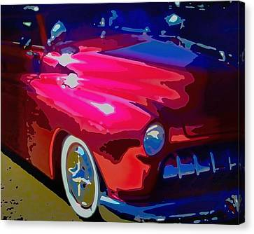 Hot Pink Custom Canvas Print - Lead Sled by Michael Pickett