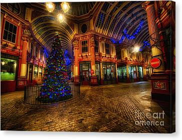 D700 Canvas Print - Leadenhall Market Hdr 03 Warm by Jack Torcello