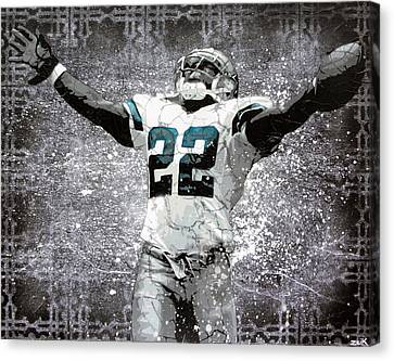 Leader Of The Cowboys Canvas Print by Bobby Zeik