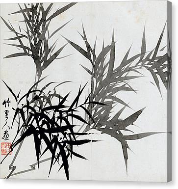 From Rugao Canvas Print - Leaf H by Rang Tian