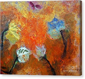 Leaf It To Mother Nature Canvas Print