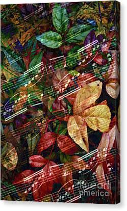 Leaf Motif Canvas Print