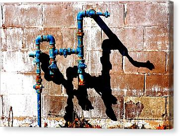 Canvas Print featuring the photograph Leaky Faucet II by Christiane Hellner-OBrien