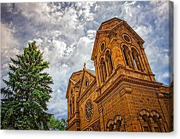 Canvas Print featuring the photograph Leaning Toward Heaven by Dave Garner