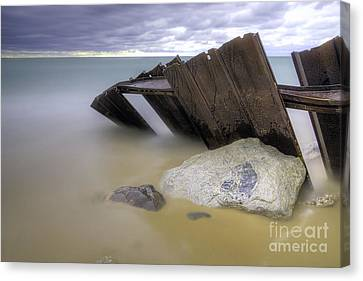 Leaning Walls  Canvas Print