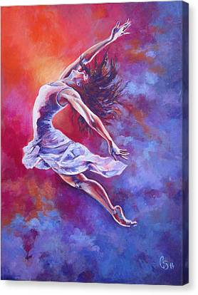 Leap Of Faith Canvas Print by Tamer and Cindy Elsharouni