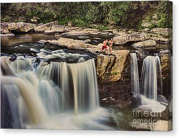 Leap Of Faith Canvas Print by Dan Friend