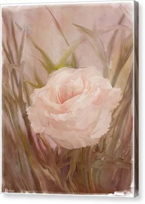 Learn To Love - Vintage Art Canvas Print by Jordan Blackstone