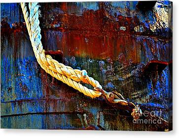 Learning The Ropes Canvas Print by Lauren Leigh Hunter Fine Art Photography