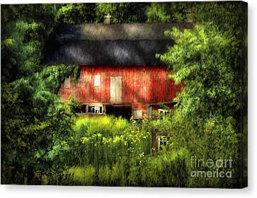 Leave Our Farms Canvas Print by Lois Bryan