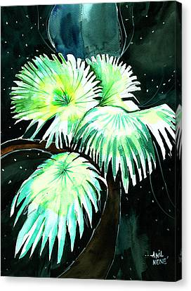 Leaves Canvas Print by Anil Nene