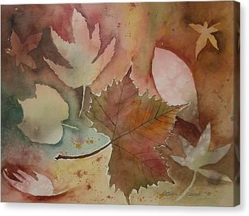Leaves Canvas Print by Patricia Novack