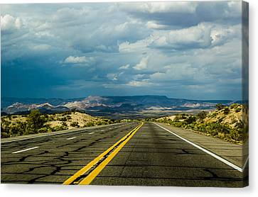 Canvas Print featuring the photograph Leaving Arizona by April Reppucci