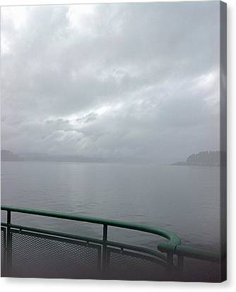 Leaving Bremerton Canvas Print by Karl Reid
