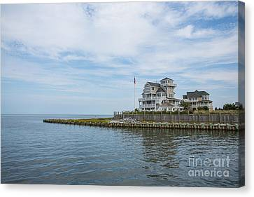 Leaving Hatteras Canvas Print by Kay Pickens