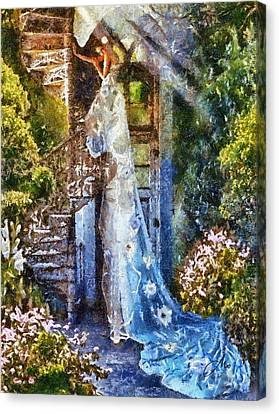 Leaving Wonderland Canvas Print by Mo T
