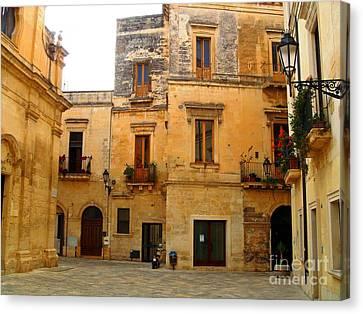 Lecce Stone Canvas Print