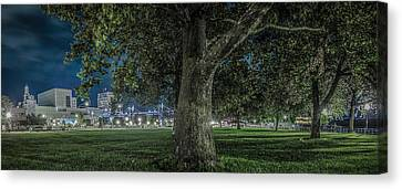 Leclaire Park Canvas Print by Ray Congrove