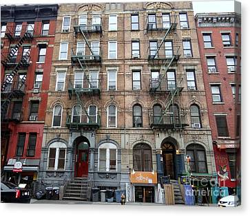 Physical Graffiti Canvas Print - Led Zeppelin Physical Graffiti Building by Ed Weidman