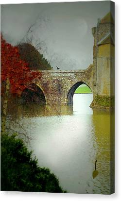 Leeds Castle Canvas Print by Diana Angstadt