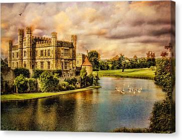 Leeds Castle Landscape Canvas Print by Chris Lord