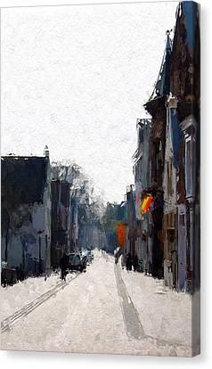 Leer Altstadt Canvas Print by Steve K
