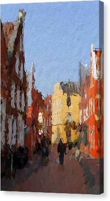 Leer Altstadtimpressionen Canvas Print by Steve K