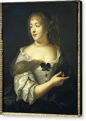 Lefebvre, Claude 1632-1675. Marie De Canvas Print by Everett