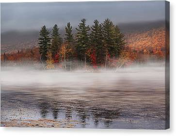 Lefferts Pond Canvas Print by Magda  Bognar