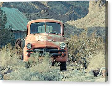 Left Behind Canvas Print by Merrick Imagery