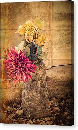 Left For A Loved One Canvas Print