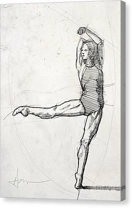 Leg Study Canvas Print by H James Hoff