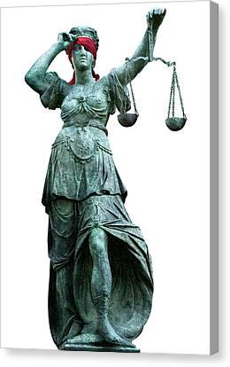 Legal Objectivity Canvas Print