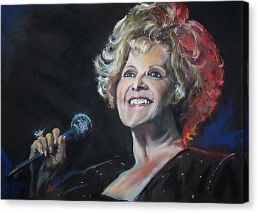 legend Brenda Lee Canvas Print