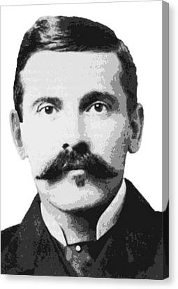 Legend Doc Holliday Canvas Print