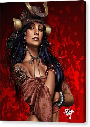 Tapang Canvas Print - Legend by Pete Tapang