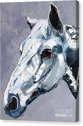 Legend Canvas Print by Susan A Becker