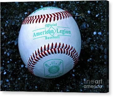 Legion Baseball Canvas Print by Colleen Kammerer